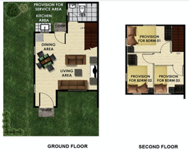 armina sf floor plan
