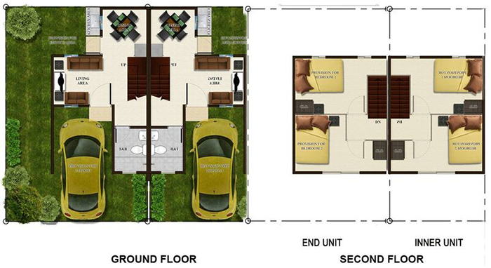 lumina homes adriana-th floor plan