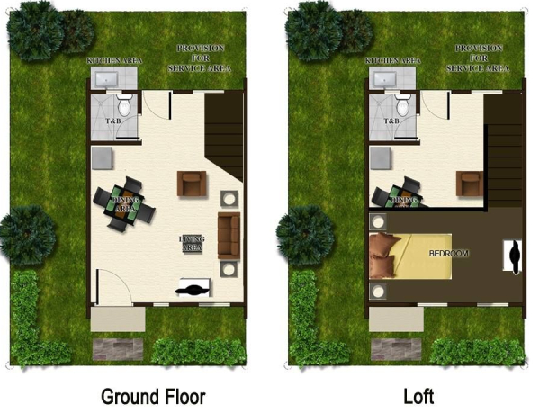 alea loft floor plan