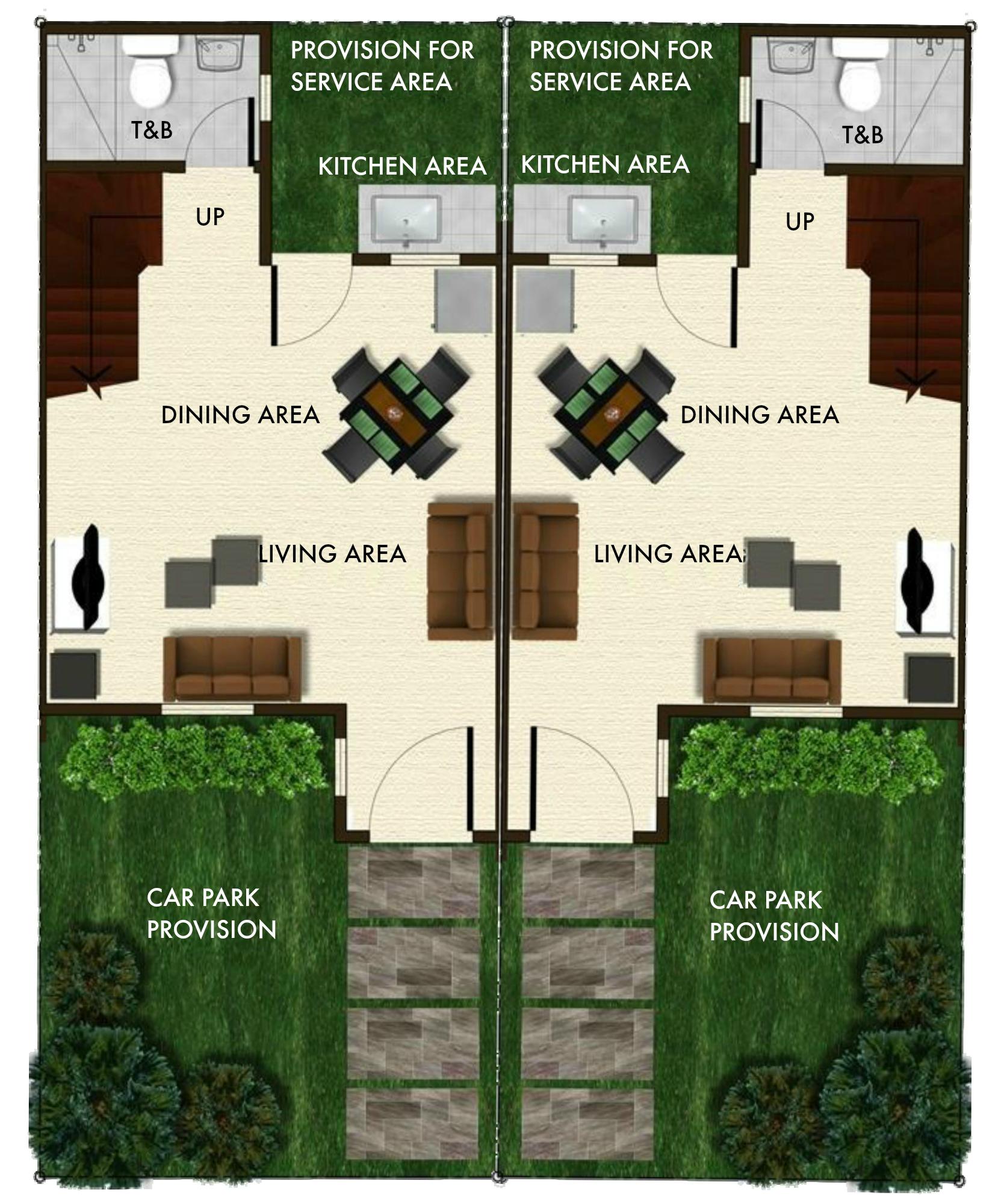 angeli duplex ground floor paln